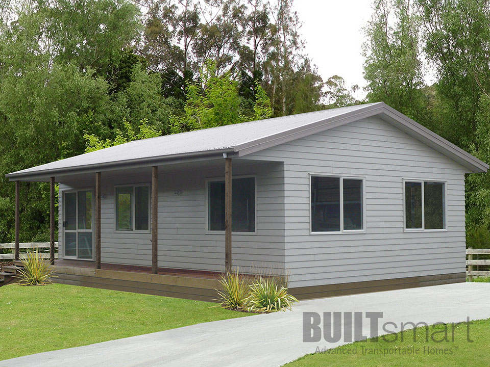 Amazing Transportable Home With Gable Roof And Palliside Cladding ...